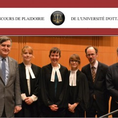 Concours de plaidoirie de l'Université d'Ottawa