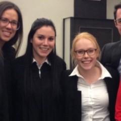 Concours de plaidoirie Sopinka : une belle victoire pour l'Université d'Ottawa